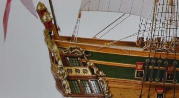 Drewniany model okrętu Norske Love Billing Boats BB437 - image_3_bb437