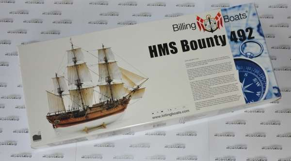 Billing_Boats_HMS_Bounty_BB492 - drewniany model żaglowca do sklejania, modeledo.pl_sklep_modelarski_image_4