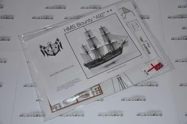 Billing_Boats_HMS_Bounty_BB492 - drewniany model żaglowca do sklejania, modeledo.pl_sklep_modelarski_image_5