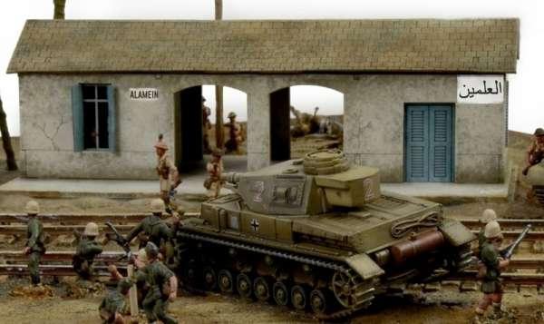 Battle Set El ALamein The Railway Station Italeri 6181 zestaw modelarski do sklejania image_1_ita6181_k