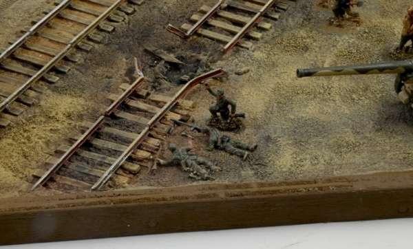 Battle Set El ALamein The Railway Station Italeri 6181 zestaw modelarski do sklejania image_1_ita6181_g
