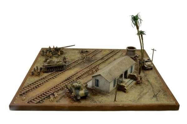 Battle Set El ALamein The Railway Station Italeri 6181 zestaw modelarski do sklejania image_1_ita6181_d