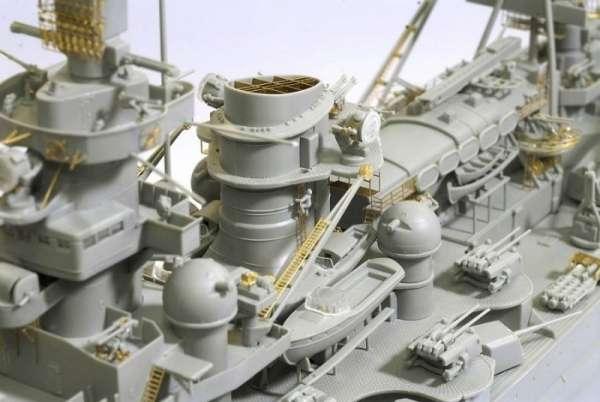German Battleship Scharnhorst 1943 - Dragon 1040, foto 5a