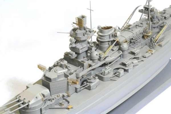 German Battleship Scharnhorst 1943 - Dragon 1040, foto 2a