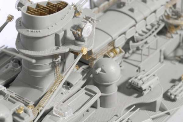 German Battleship Scharnhorst 1943 - Dragon 1040, foto h