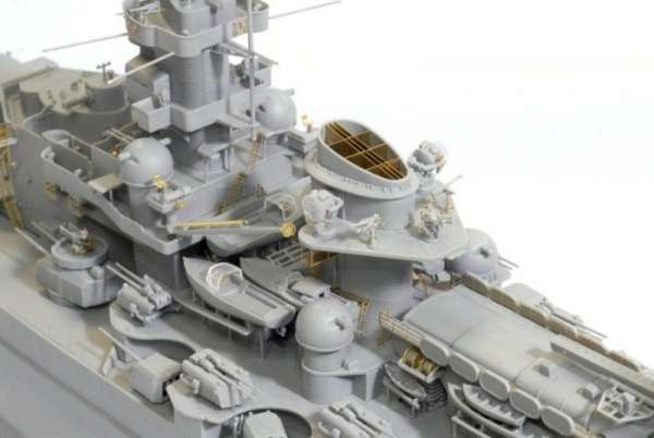German Battleship Scharnhorst 1943 - Dragon 1040, foto 1a