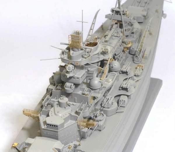 German Battleship Scharnhorst 1943 - Dragon 1040, foto 4a