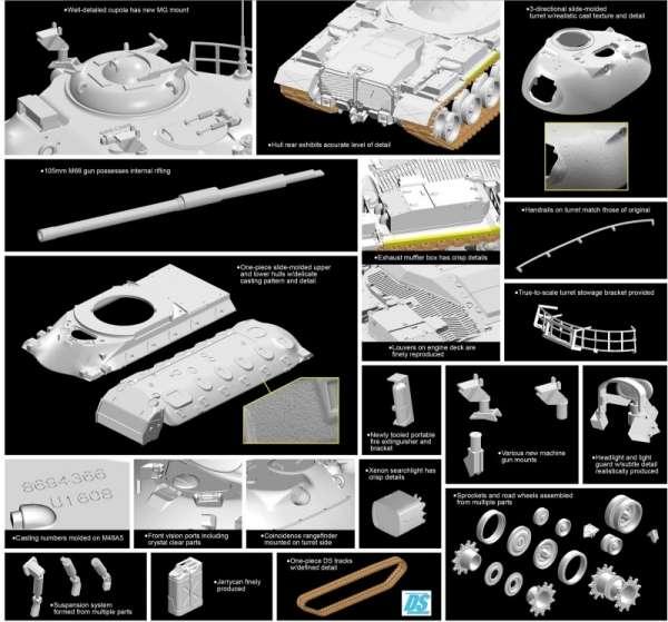 model_czolgu_m48a5_105mm_dragon_3611_sklep_modelarski_modeledo_image_3-image_Dragon_3611_3