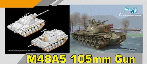 model_czolgu_m48a5_105mm_dragon_3611_sklep_modelarski_modeledo_image_2-image_Dragon_3611_3