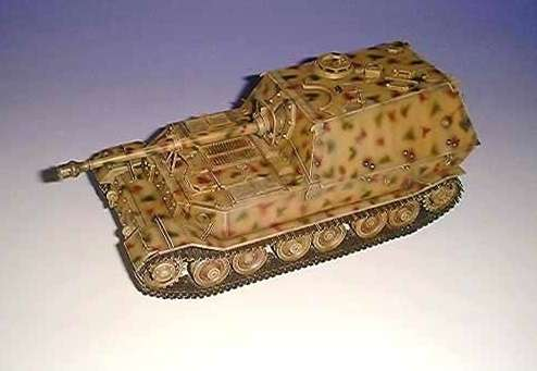 Dragon 6126 w skali 1/35 - model do sklejania - image b - tank destroyer Sd.Kfz.184 Elefant