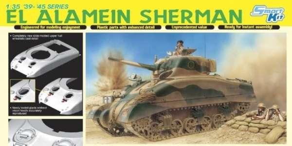Dragon 6447 El Alamein Sherman