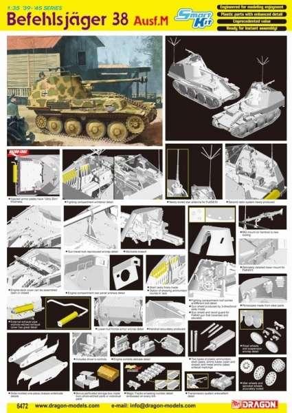Dragon 6472 w skali 1:35 - model Befehlsjager 38 Ausf.M - image a