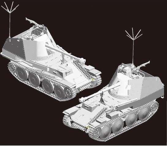 Dragon 6472 w skali 1:35 - model Befehlsjager 38 Ausf.M - image a3