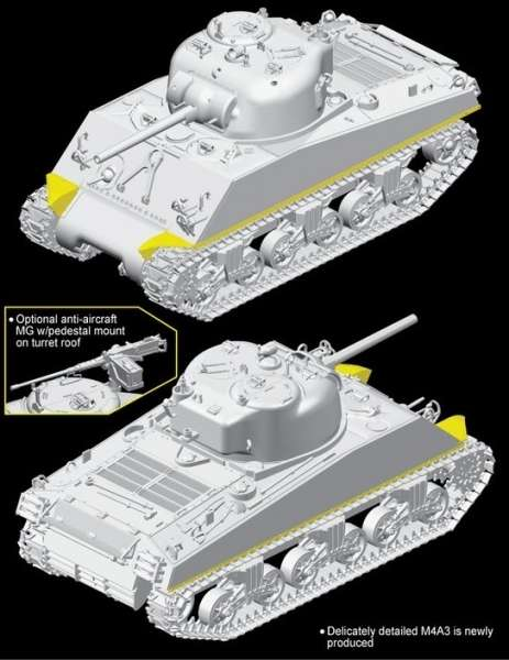 Dragon 6698 M4A3(75)W ETO Sherman