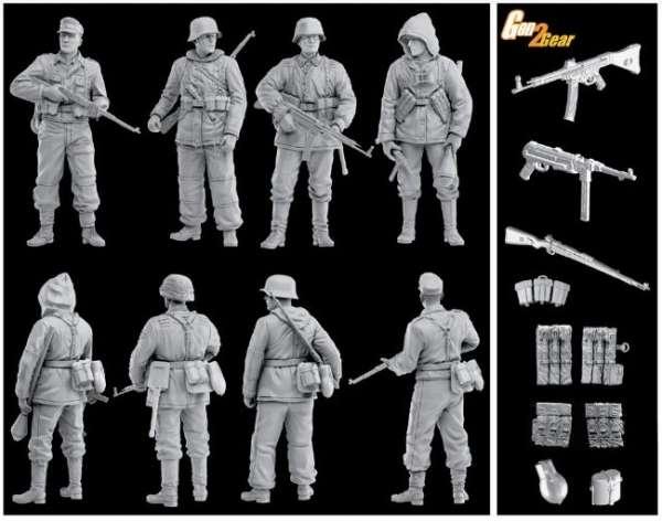 Dragon 6704 German Waffen Grenadiers (1944-45)