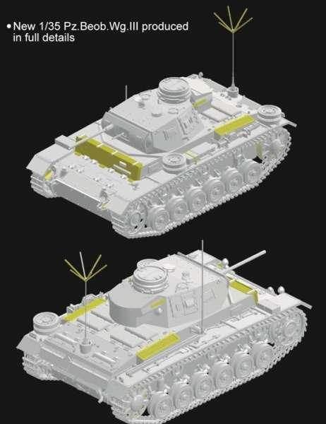 Dragon 6792 Pz.Boeb. Wg. III Ausf.F (Sd.Kfz.143)