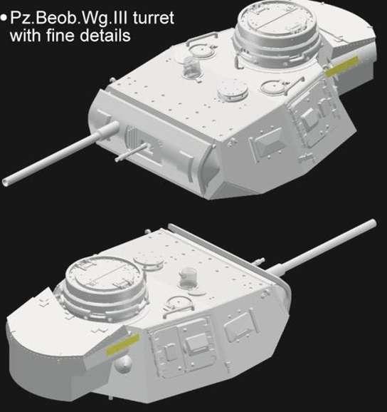 Panzerbeobachtungswagen III Ausf.F model_do_sklejania_dragon_6792_image_21