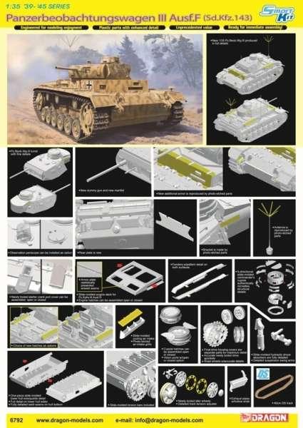 Panzerbeobachtungswagen III Ausf.F model_do_sklejania_dragon_6792_image_2
