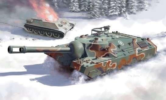Heavy tank T-95 in scale 1:35, Dragon 6825