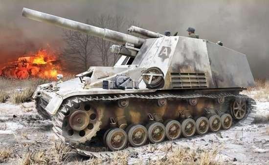 Dragon 6876 Sd.Kfz.165 Hummel with Winterketten