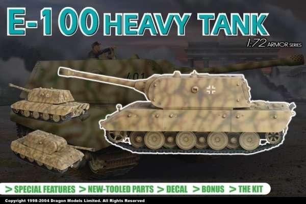Dragon 7256 E-100 Heavy Tank