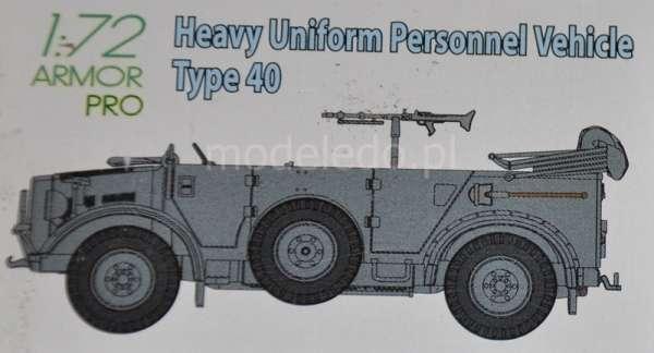 Dragon 7378 Heavy Uniform Personnel Vehicle Type 40