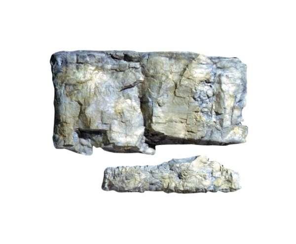 Możliwy do stworzenia efekt dzięki formie do skał Woodland Scenics C1239