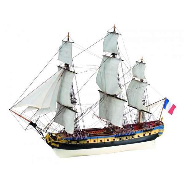 model_drewniany_do_sklejania_artesania_22517_n_statek_fregata_hermione_la_fayette_sklep_modelarski_modeledo_image_2