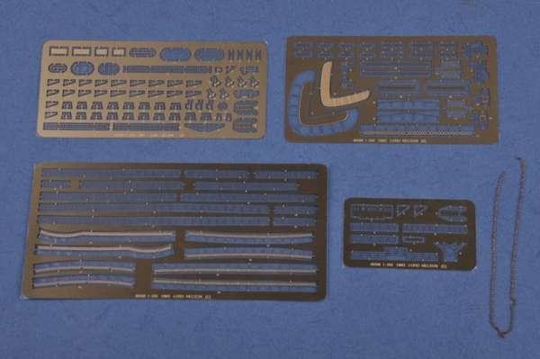 Elementy fototrawione oraz metalowy łańcuch - model Hobby Boss 86508