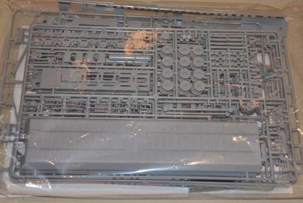 Wypraski modelu Hasegawa MT58 31258 działa kolejowego Krupp K5(E) Leopold