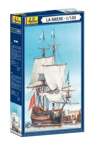 Plastikowy model żaglowca do sklejania La Sirena model_heller_80893_image_7-image_Heller_80893_8