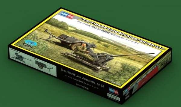 Hobby Boss 80148 2cm FlaK 38 Late Version - Sd.Ah 51