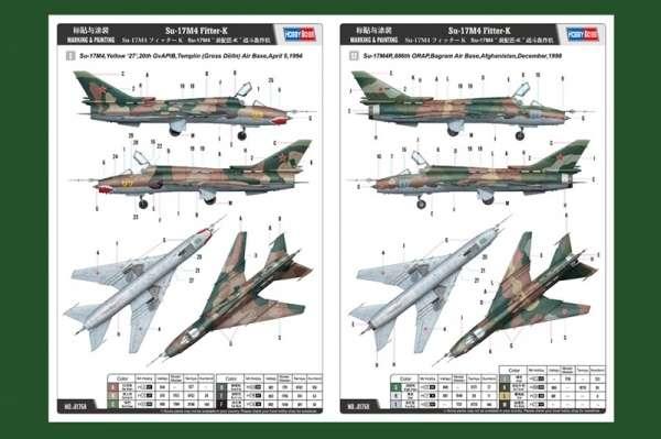 Instrukcja malowania modelu samolotu Su-17M4 Fitter K - Hobby Boss 81758