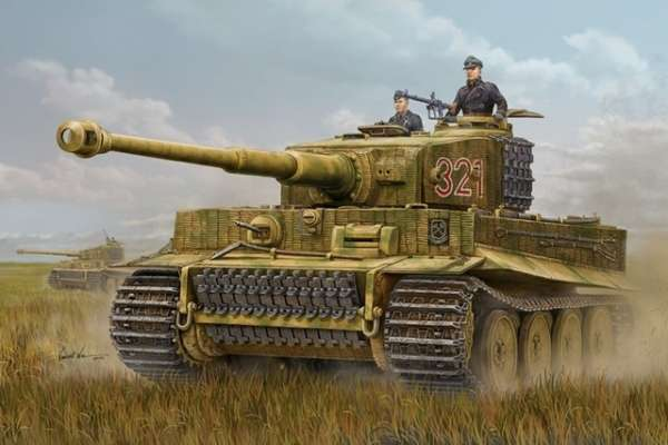 German Heavy Tank Tiger I in scale 1/16 model_hobby_boss_82601_image_17