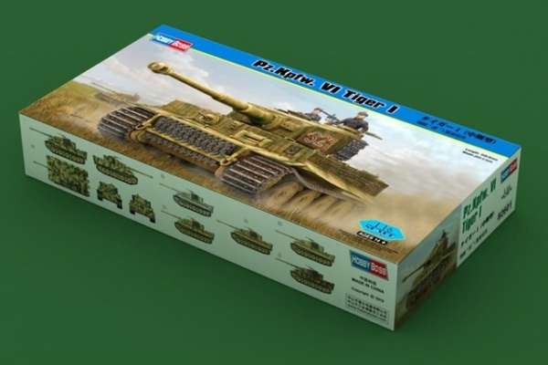 German Heavy Tank Tiger I in scale 1/16 model_hobby_boss_82601_image_16