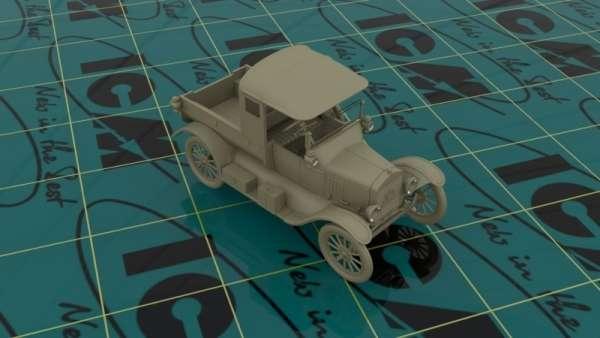 ICM 35664 w skali 1:35 - model Ford Model T 1917 Utility WWII Australian Army Car do sklejania - image b