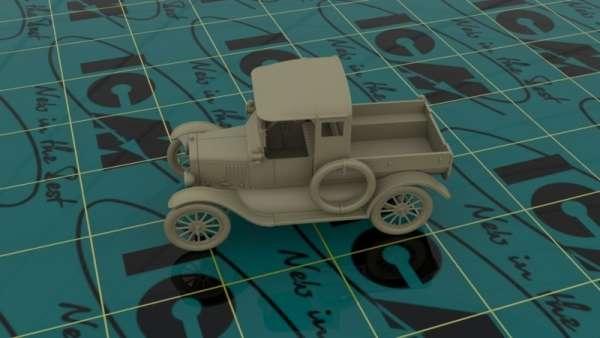 ICM 35664 w skali 1:35 - model Ford Model T 1917 Utility WWII Australian Army Car do sklejania - image a