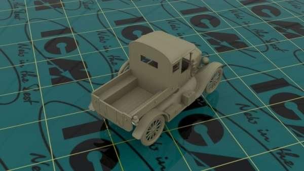 ICM 35664 w skali 1:35 - model Ford Model T 1917 Utility WWII Australian Army Car do sklejania - image c