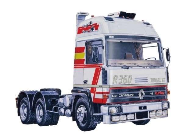 Tir do sklejania Berliet / Renault R360 Le Centaure w skali 1:24 Italeri 3913 model_ita3913_image_1-image_Italeri_3913_3