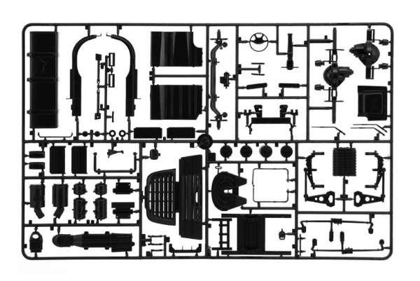 Model ciężarówki z naczepą Daf XF105 w/Maritime w skali 1:24 model Italeri 3920 ita3920_image_7-image_Italeri_3920_3