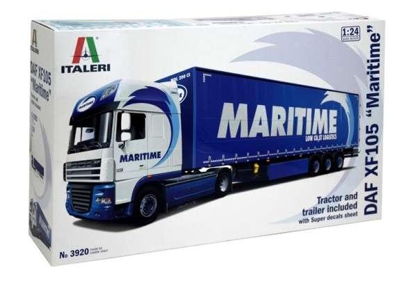 Model ciężarówki z naczepą Daf XF105 w/Maritime w skali 1:24 model Italeri 3920 ita3920_image_1-image_Italeri_3920_2