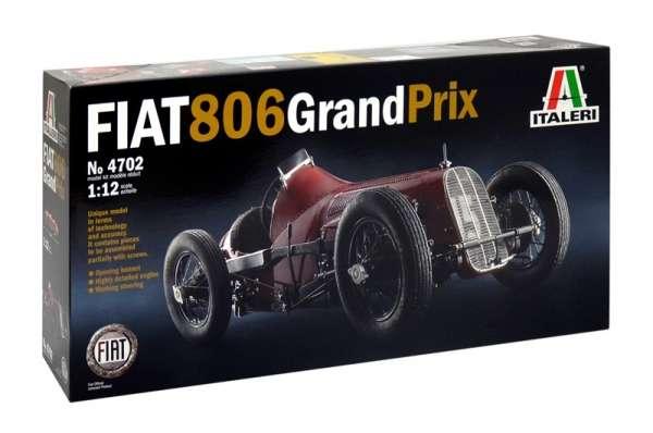 Model kolekcjonerski Fiat 806 Grand Prix Italeri 4702 image_fiat806_ita4702_2-image_Italeri_4702_3