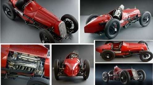 Model kolekcjonerski Fiat 806 Grand Prix Italeri 4702 image_fiat806_ita4702_3-image_Italeri_4702_4