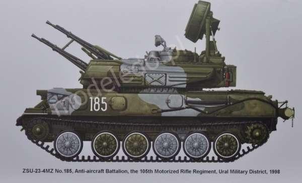 Plastikowy model do sklejania rosyjskiego systemu plot ZSU-23-4 Shilka model_meng_image_10-image_Meng_TS-023_10