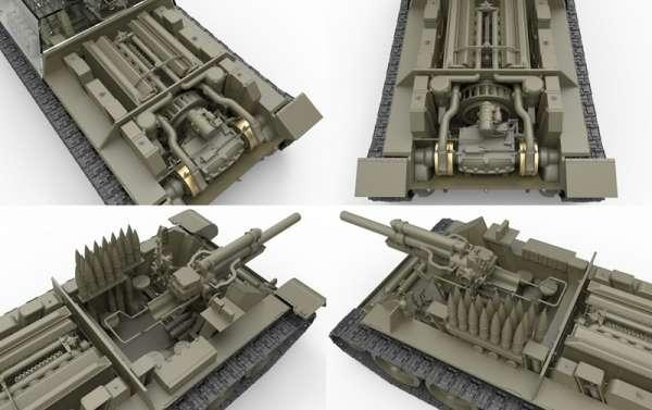 MiniArt 35175 Soviet self-propelled gun SU-122