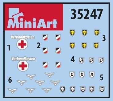 MiniArt 35247 w skali 1:35 - zestaw dodatków German Infantry Weapons and Equipment - image e