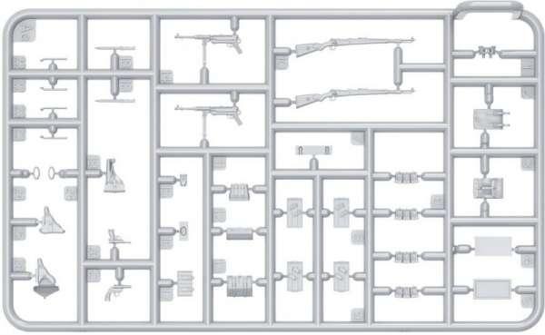 MiniArt 35247 w skali 1:35 - zestaw dodatków German Infantry Weapons and Equipment - image c