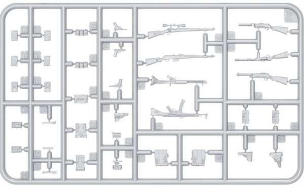 MiniArt 35247 w skali 1:35 - zestaw dodatków German Infantry Weapons and Equipment - image d