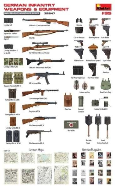 MiniArt 35247 w skali 1:35 - zestaw dodatków German Infantry Weapons and Equipment - image g