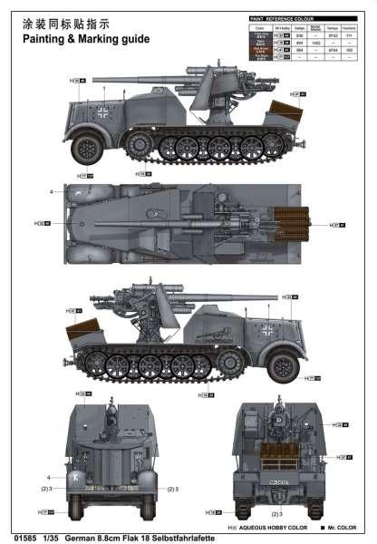 plastikowy-model-do-sklejania-samobieznego-dziala-88mm-flak-18-sklep-modeledo-image_Trumpeter_01585_21